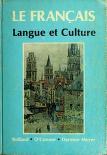 Cover of: Le français; langue et culture
